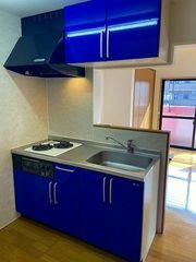 キッチン(部屋によって色が違います)