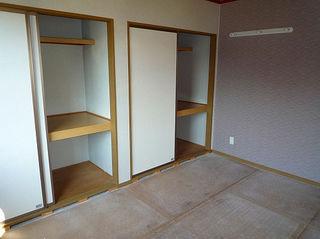 和室(畳は入っていません)